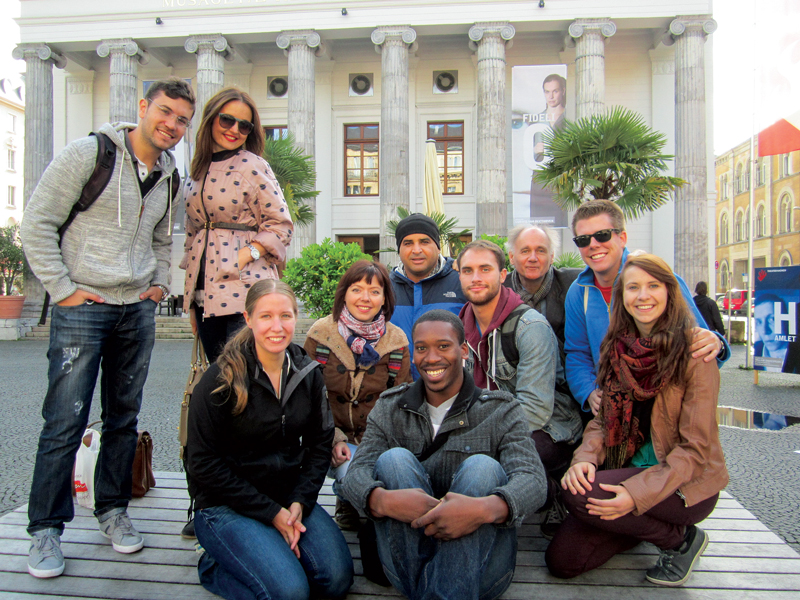 CBYX fellows in Germany