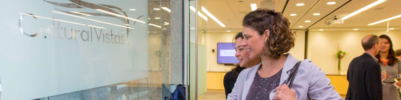 Visitors and Alumni at our Washington, D.C. Office Opening